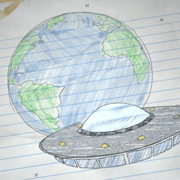 UFO Scribble